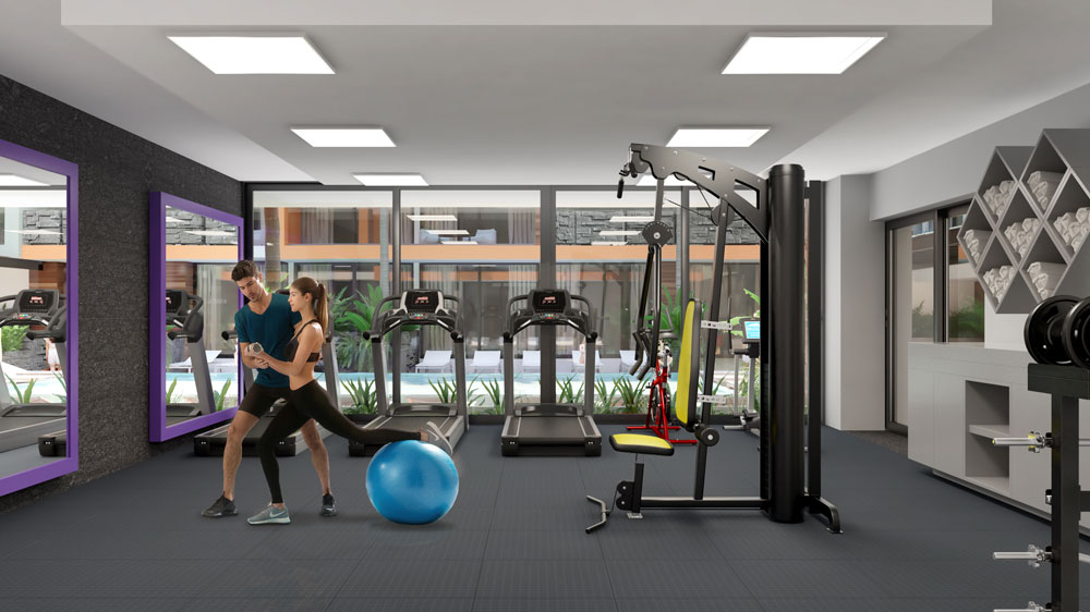 Imagen del gym de the city